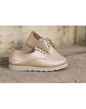 Бежови дамски ежедневни обувки Angelita в online магазин Fashionzona