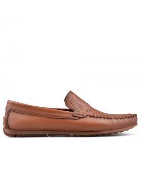 Кафяви мъжки ежедневни обувки Kortez в online магазин Fashionzona