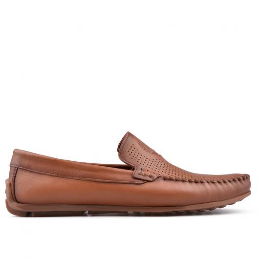 Кафяви мъжки ежедневни обувки Kortez