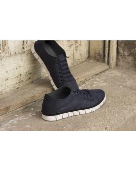 Сини мъжки ежедневни обувки Julian в online магазин Fashionzona