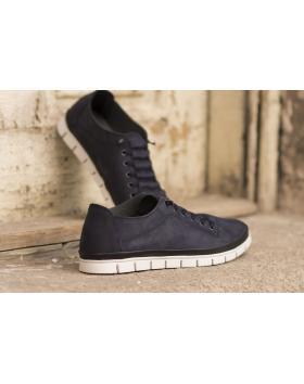 Сини мъжки ежедневни обувки 0801 0801 в online магазин Fashionzona