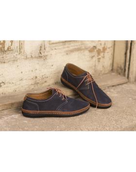 Сини мъжки ежедневни обувки 0809 0809 в online магазин Fashionzona