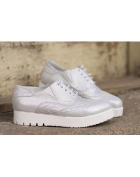Сребристи дамски ежедневни обувки 1050 1050 в online магазин Fashionzona