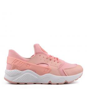 Розови дамски кецове 0134508 в online магазин Fashionzona