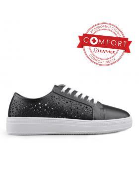 Черни дамски ежедневни обувки 0133426 в online магазин Fashionzona