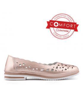 Златисти дамски ежедневни обувки 0133434 в online магазин Fashionzona