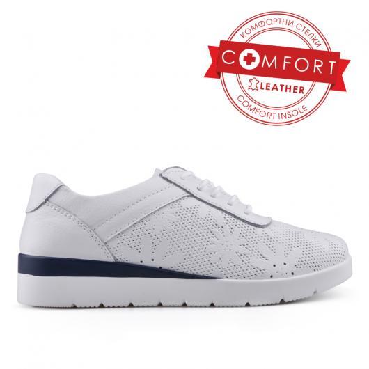 Дамски ежедневни обувки бели 0133424