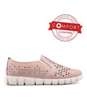 Розови дамски ежедневни обувки 0133385 в online магазин Fashionzona