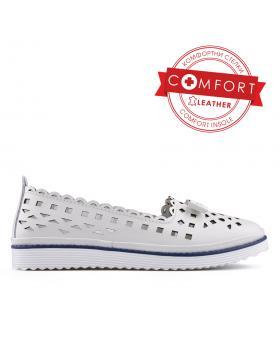Бели дамски ежедневни обувки 0133418 в online магазин Fashionzona
