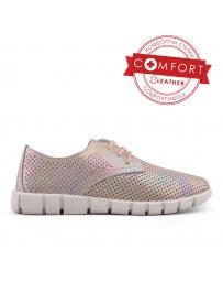 Дамски ежедневни обувки бежови 0133384