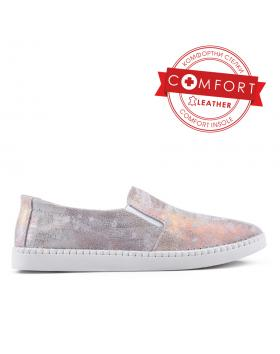 Златисти дамски ежедневни обувки 0133399 в online магазин Fashionzona