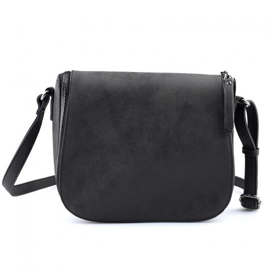 Черна дамска ежедневна чанта Trusha