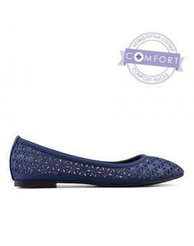 Сини дамски ежедневни обувки 0135098 в online магазин Fashionzona