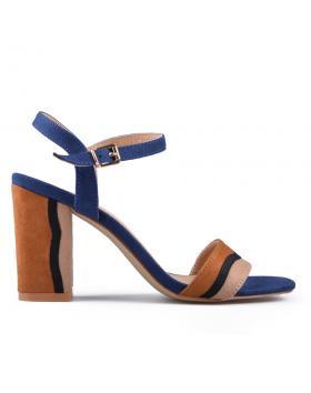 Сини дамски елегантни сандали 0133745 в online магазин Fashionzona