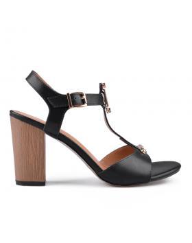 Черни дамски елегантни сандали 0133750 в online магазин Fashionzona