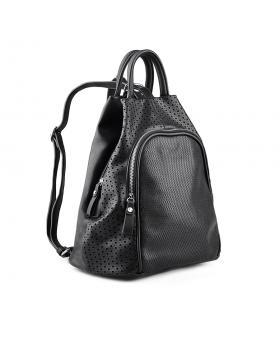 Черна дамска раница 0134336 в online магазин Fashionzona