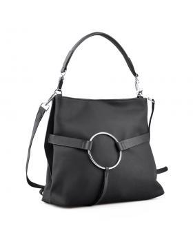 Черна дамска ежедневна чанта 0134301 в online магазин Fashionzona