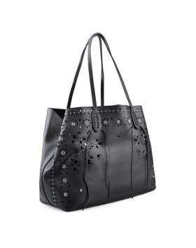 Черна дамска ежедневна чанта 0134292 в online магазин Fashionzona