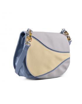 Синя дамска чанта 0134290 в online магазин Fashionzona