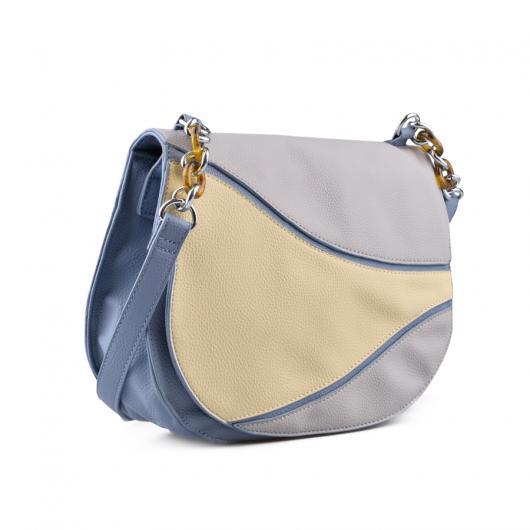 Синя дамска чанта Cheresse