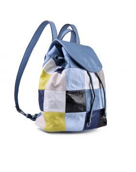Синя дамска раница 0134287 в online магазин Fashionzona