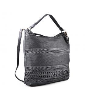 Черна дамска ежедневна чанта 0134281 в online магазин Fashionzona