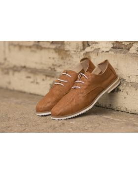Кафяви дамски ежедневни обувки crispy06 crispy06 taba в online магазин Fashionzona