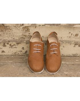 Кафяви дамски ежедневни обувки crispy06 Anchita в online магазин Fashionzona