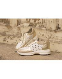 Дамски ежедневни обувки бели hogan