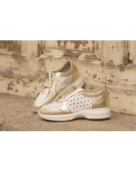 Бели дамски ежедневни обувки hogan hogan white в online магазин Fashionzona