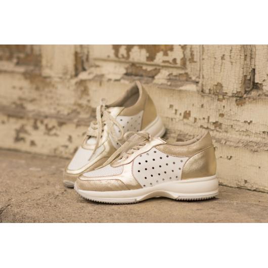 Бели дамски ежедневни обувки hogan Celesse