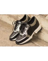 Дамски ежедневни обувки черни hogan