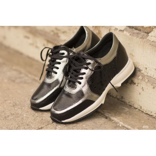 Черни дамски ежедневни обувки hogan Zuri