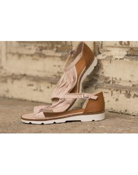 Розови дамски ежедневни сандали allyda08 allyda08 pink в online магазин Fashionzona