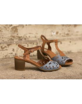 Кафяви дмски ежедневни сандали Azure в online магазин Fashionzona