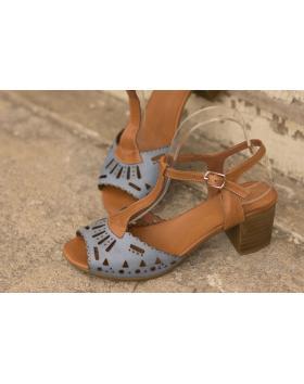 Кафяви дмски ежедневни сандали elsa01 в online магазин Fashionzona