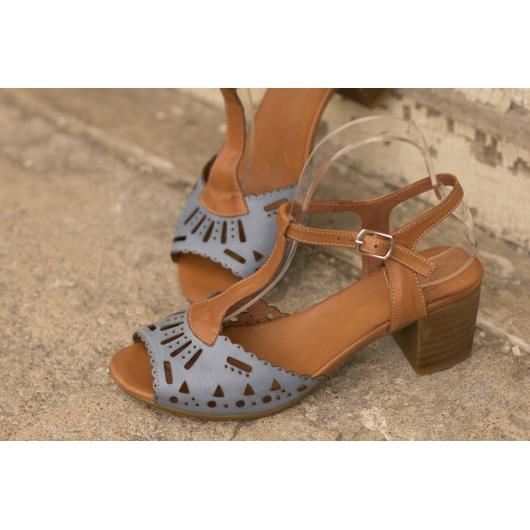 Кафяви дмски ежедневни сандали Azure