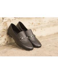 Черни дамски ежедневни обувки carla 02