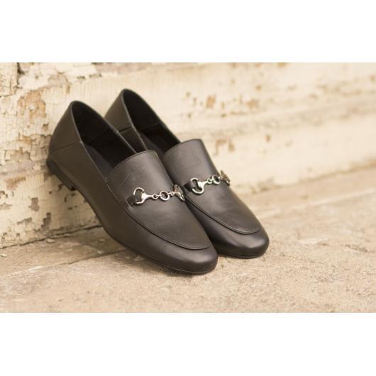 Черни дамски ежедневни обувки Raissa