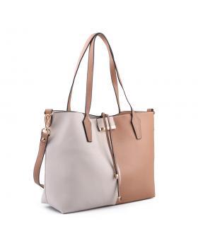 Бежова дамска ежедневна чанта 0134254 в online магазин Fashionzona
