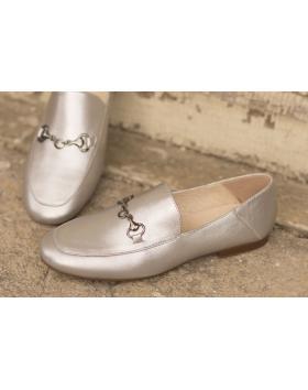 Сребристи дамски ежедневни обувки brigget01 Gezana в online магазин Fashionzona