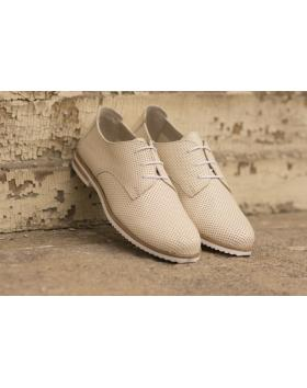 Бежови дамски ежедневни обувки crispy06 crispy06 ice в online магазин Fashionzona