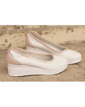 Бели дамски ежедневни обувки 286 Faun в online магазин Fashionzona
