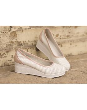 Бели дамски ежедневни обувки 286 286/18206 в online магазин Fashionzona