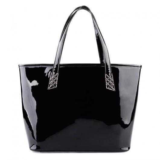 Черна дамска ежедневна чанта Inez