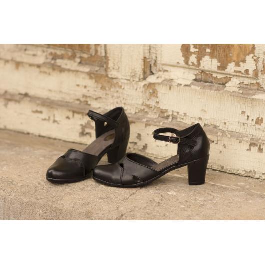 Черни дамски ежедневни обувки Archisha Stacie