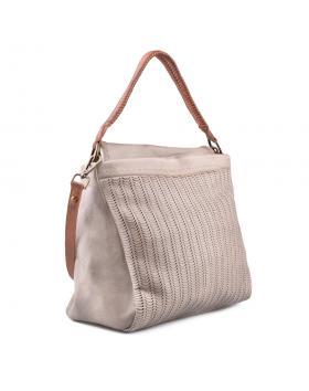 Бежова дамска ежедневна чанта 0134275 в online магазин Fashionzona