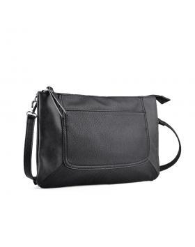 Черна дамска ежедневна чанта 0134265 в online магазин Fashionzona