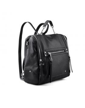 Черна дамска раница 0134276 в online магазин Fashionzona