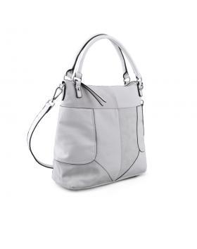 Бяла дамска ежедневна чанта 0134264 в online магазин Fashionzona